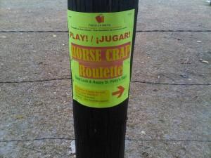 Horse Crap Roulette Ad