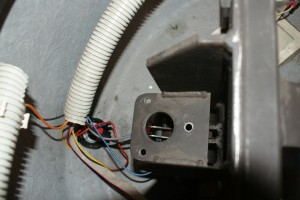 Where the solenoid screws in on the Boxer