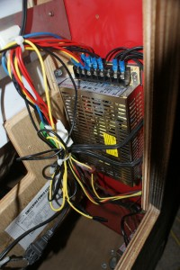 Power Supplies (x2) - The wiring isn't exactly the neatest in this.