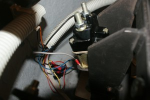 How the solenoid was wired