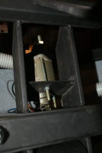 The newly-installed solenoid