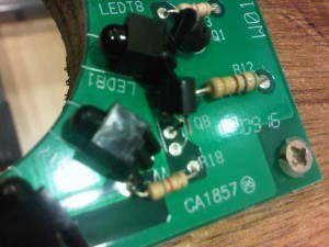 Damaged Transistor Legs