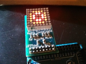Testing the assembled board